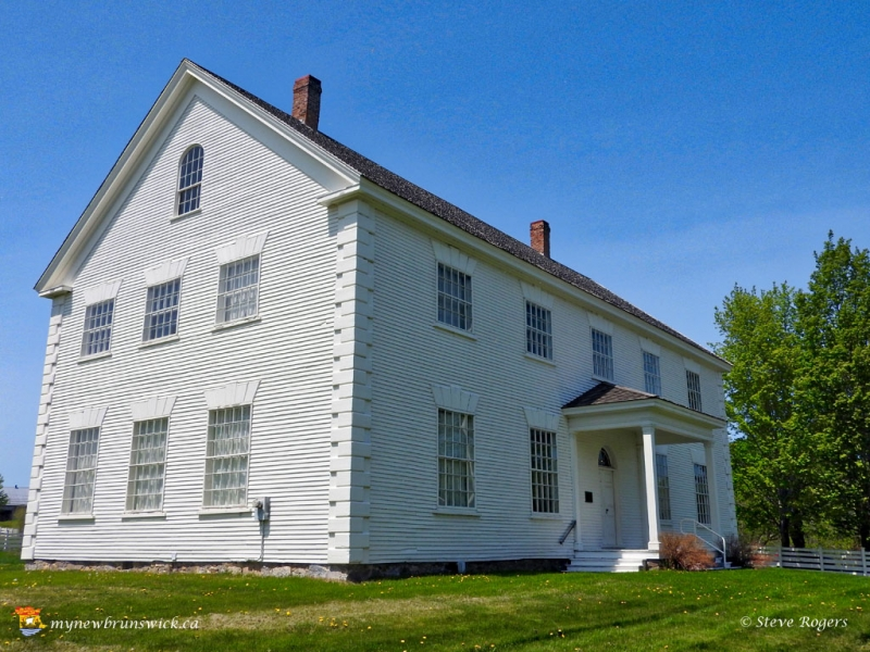 Old Carleton County Count House in Woodstock