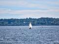 Sailing in Bathurst Harbour