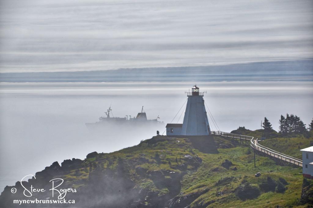 Foggy Swallowtail Lighthouse ©SJR_8012