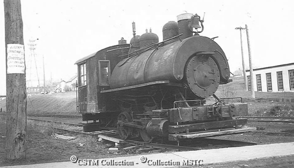 1913 Steam Locomotive at the mill.