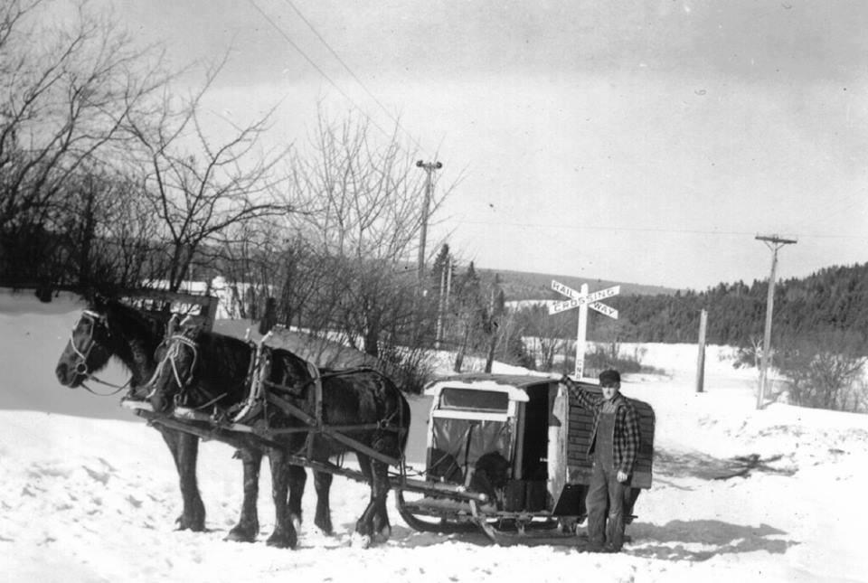 1940s school bus taymouth