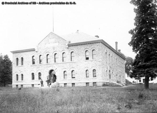Bathurst, Gloucester Co. Court House. Dated 1899_P11-132