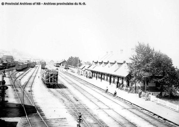 Campbellton ICR Railway Station-P11-127