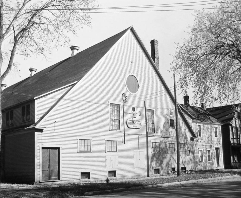 Fredericton Curling Club 1854