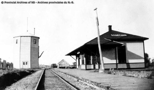 Gagetown Railway Station