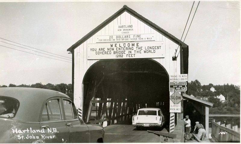 Hartland Covered Bridge entrance