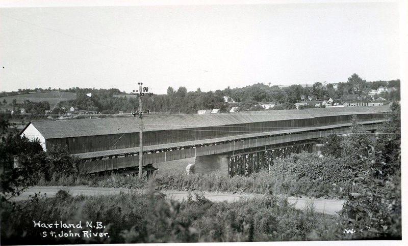 Hartland Covered Bridge wide shot