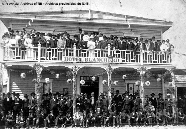 Hotel Blanchard Caraquet Acadian convention of 1905 - P146-90