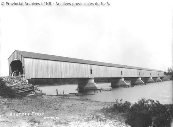 Hunters Ferry Covered Bridge