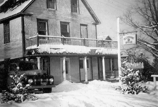 Keswick Ridge Telephone Office