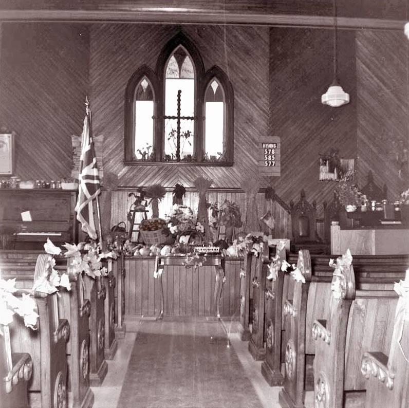 Mactaquac Baptist Church 1964
