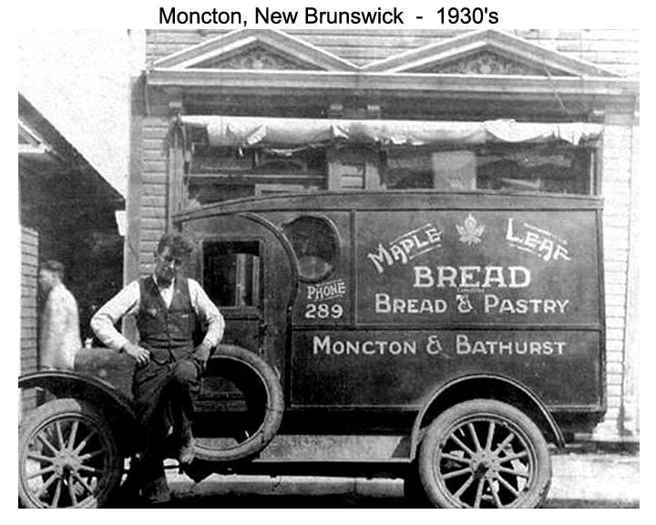 Maple Leaf Bread Moncton 1930's