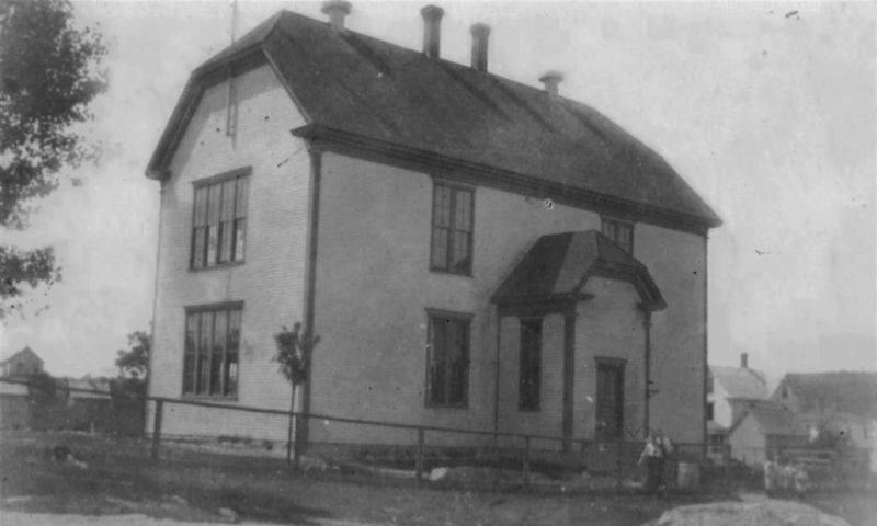 McAdam high school 1924