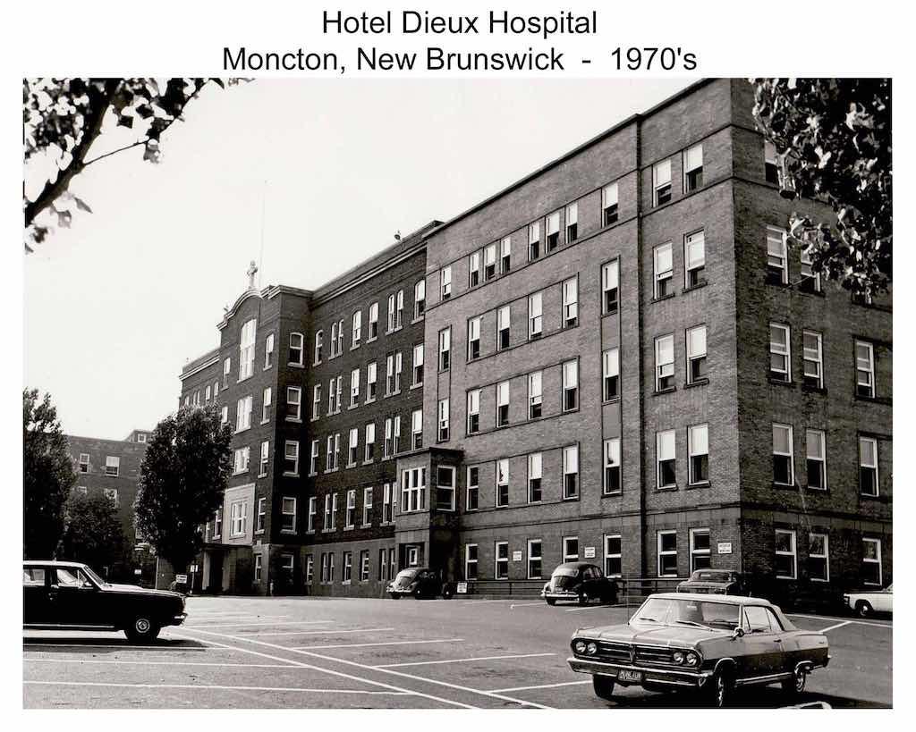 Moncton Hospital 1970