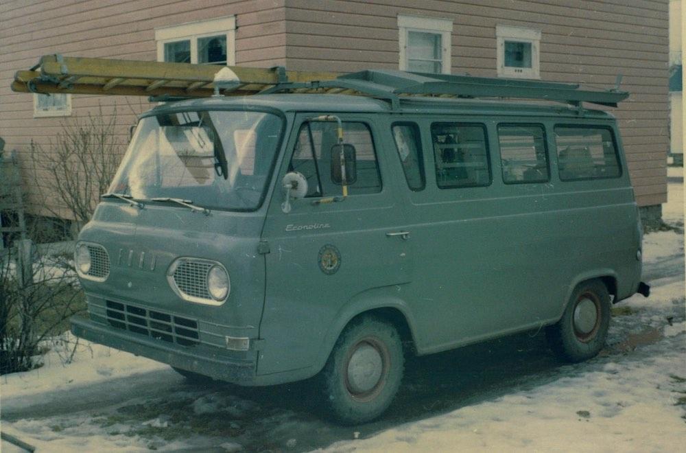 NB Telephone Co Truck
