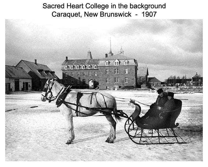 Sacred Heart Caraquet 1907