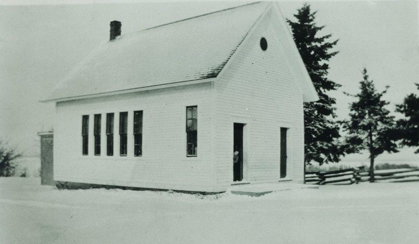 White's Cove School, Queens County, New Brunswick, Winter 1927