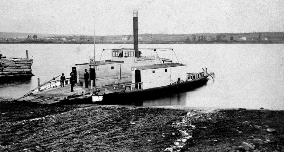 Whitman Haines Ferry, ca 1880's, St Mary's, Devon
