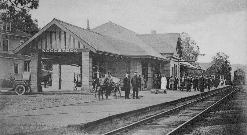 Woodstock CP Train Station