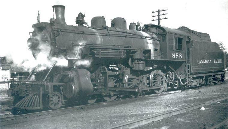 Woodstock Train 1957