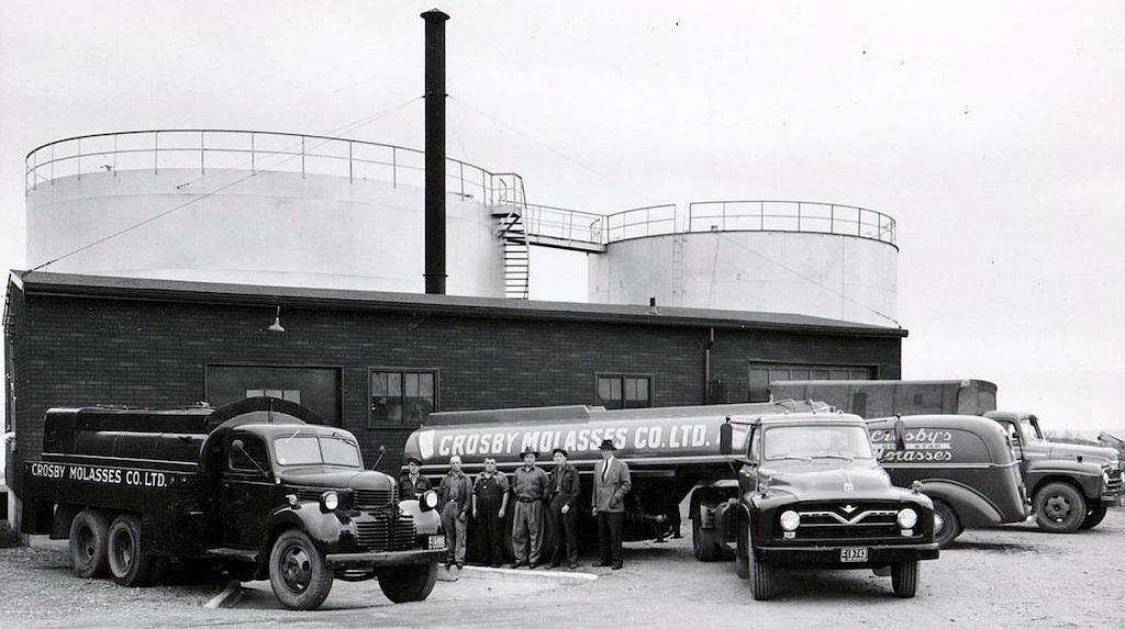crosby molasses trucks