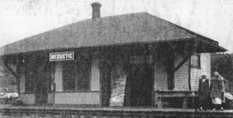 meductic train station
