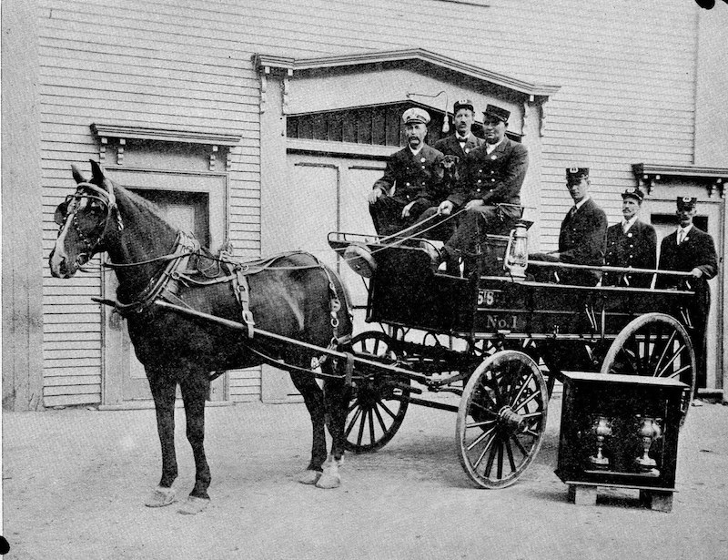 st stephen fire dept 1909