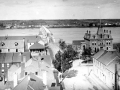 Carleton Street Bridge from spire of Wilmot Church looking north toward St. Mary's, ca. 1890. PANB P5-290B