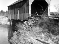 Maxwell Crossing covered bridge Dennis Stream Charlotte Co 1974 - P173-70