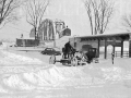 Snow plow 1937 Brunswick St F'ton NB