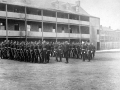 Troops in Officers Square