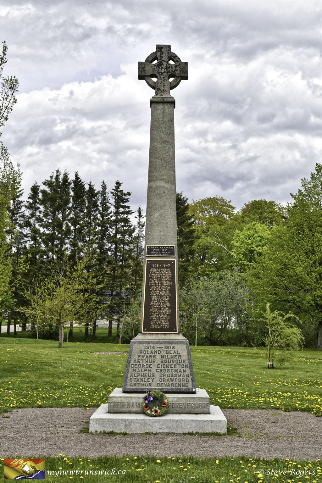 Cenotaph Sackville NB ©SJR_9290