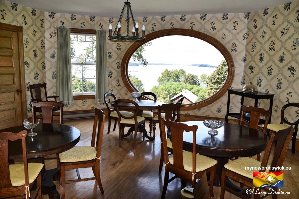 Dining Room Hubbard Cottage Roosevelt Park Campobello©LDD_6428