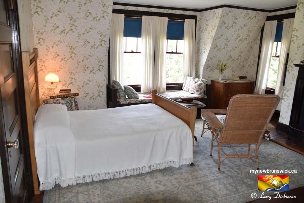 Master Bedroom Roosevelt Cottage Campobello©LDD_6458