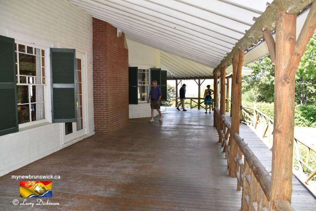 Porch Hubbard Cottage Roosevelt Park Campobello©LDD_6432