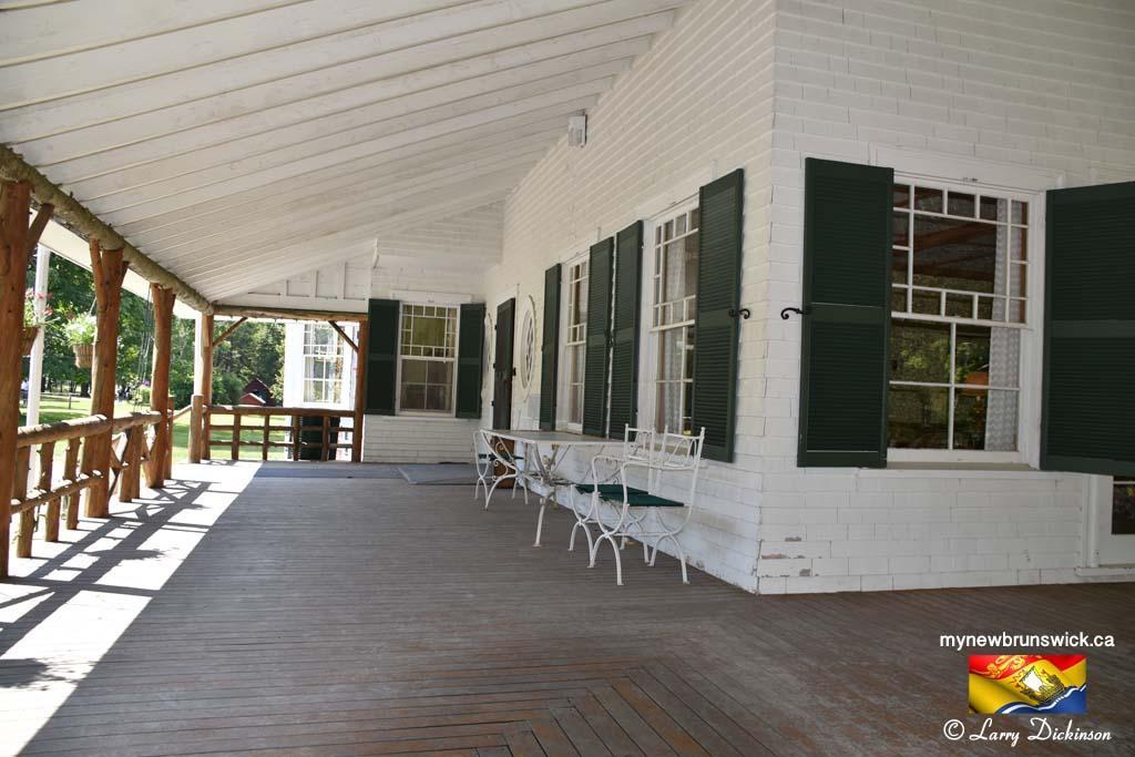 Porch Hubbard Cottage Roosevelt Park Campobello©LDD_6437