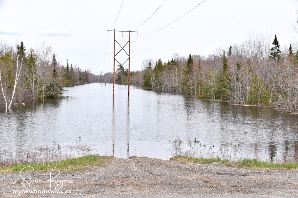 Flooding Oromocto NB ©SJR7547