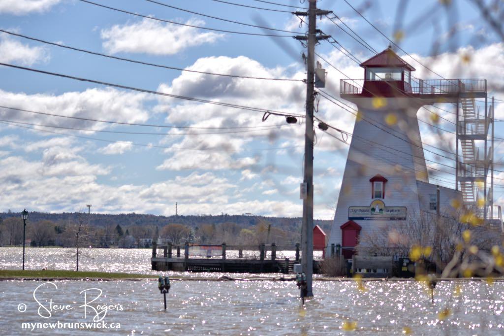 Fredericton Flood Update ©SJR_6597