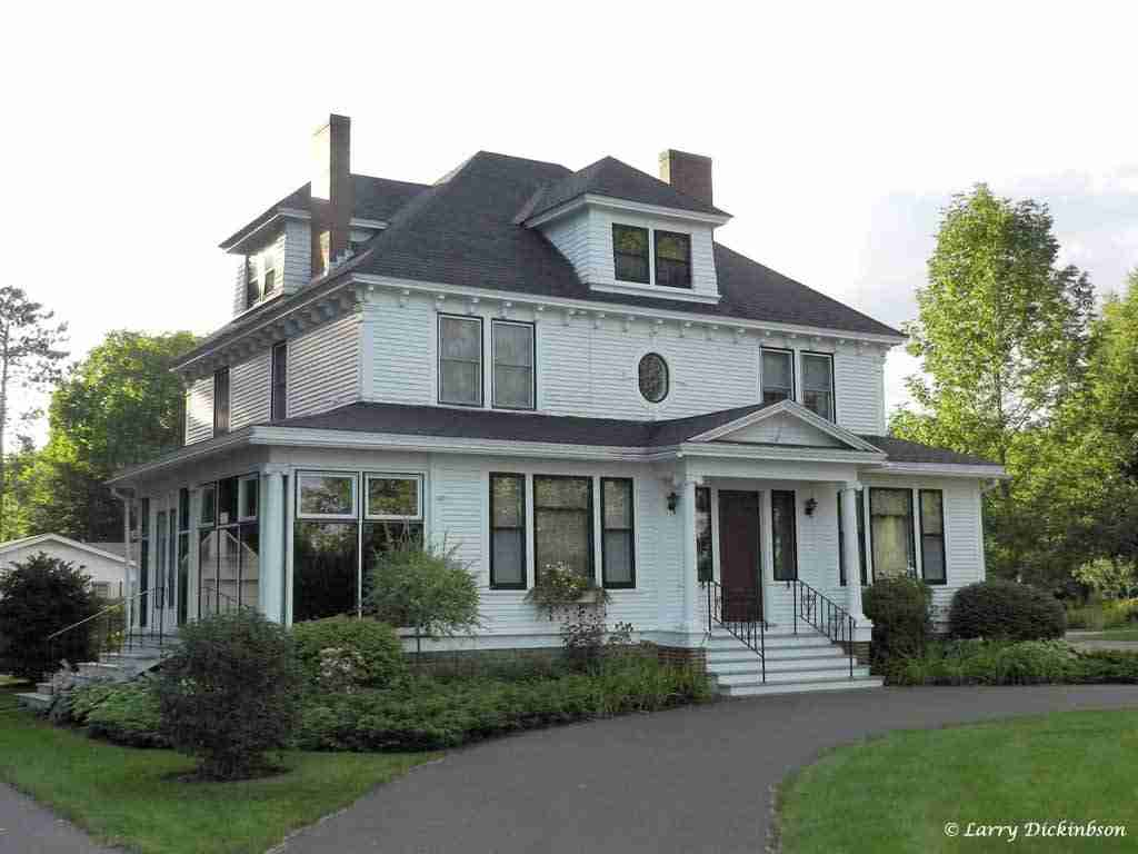 James S. Neill home 212 Waterloo Row fredericton