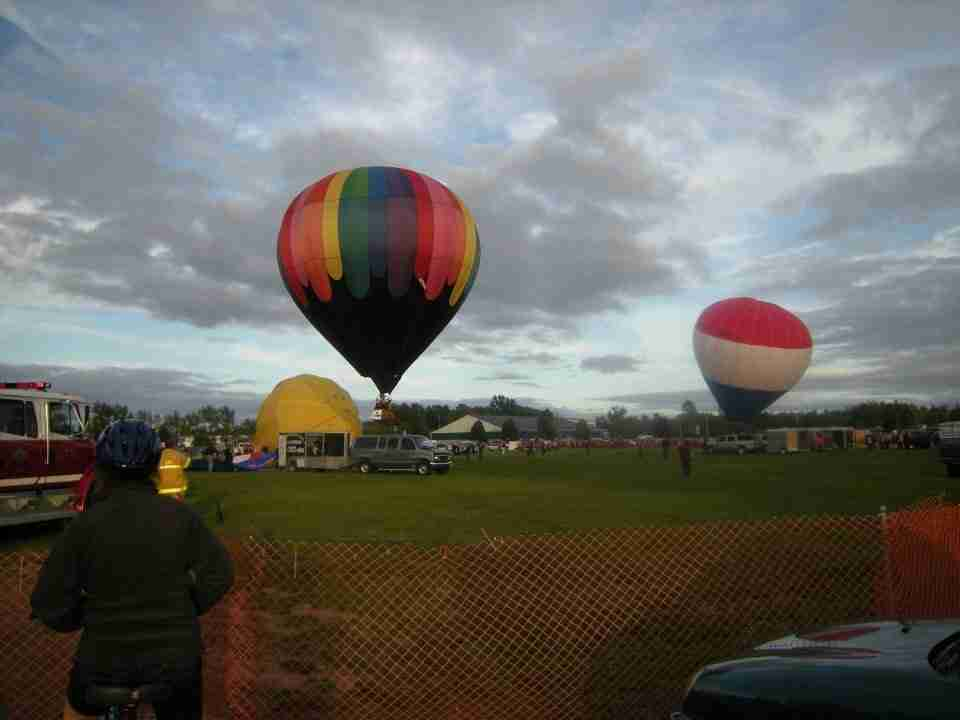 Balloon Fiesta in Sussex