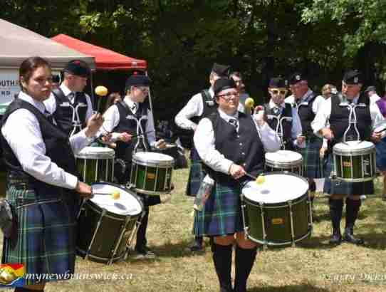 Fredericton Society of Saint Andrew Pipe Band