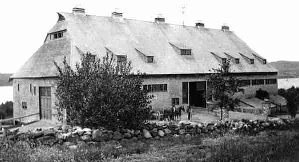 William Van Horne's model barn 1912