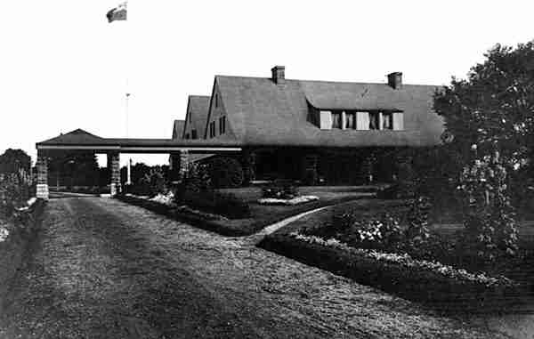 William Van Horne's summer home Covenhoven 1912