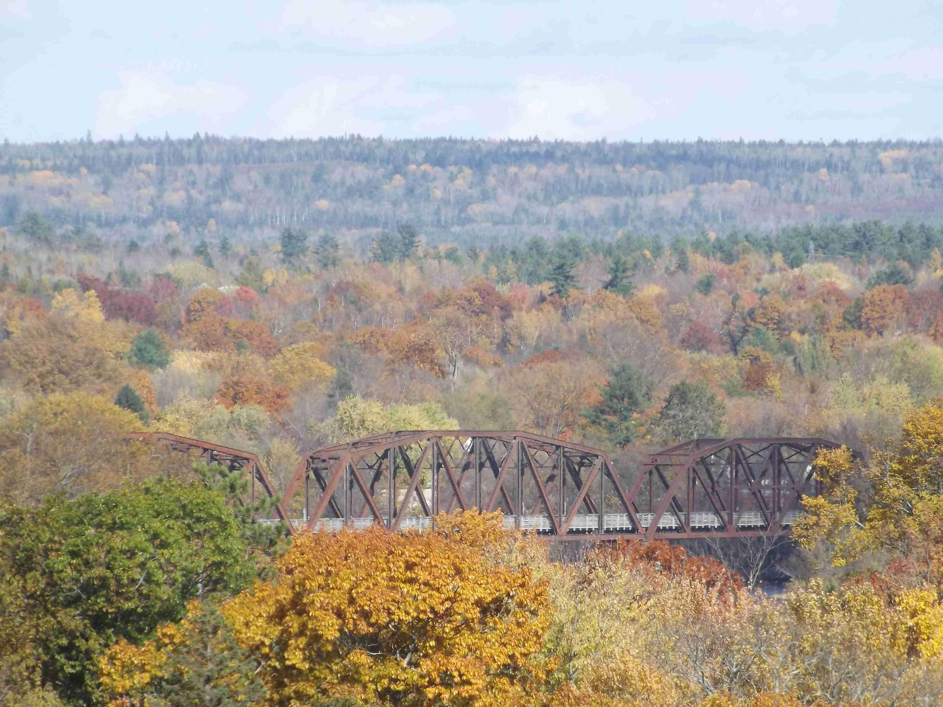 Walking Bridge Fall Colours