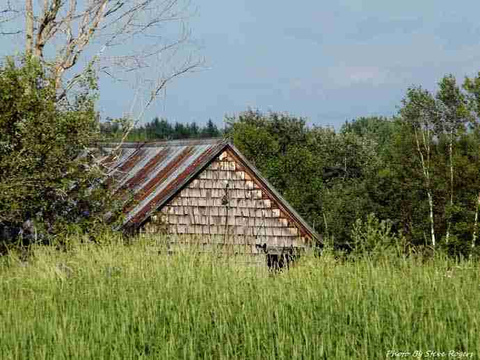 Old Barn in Hoyt, NB