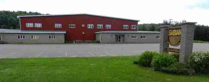 Sabian Ltd. factory in Meductic, NB.