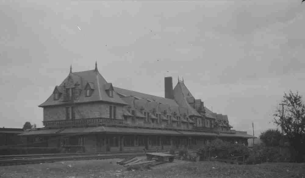McAdam NB, Train Station
