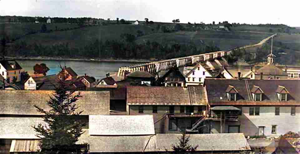 Longest Covered Bridge Hartland