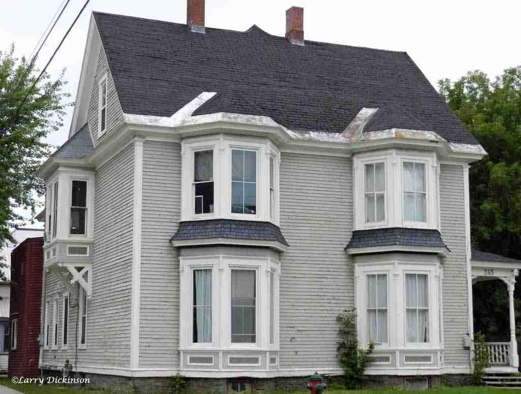 John Harvey House 245 York St. Fredericton