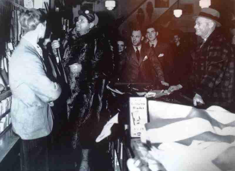 Babe Ruth at Neills Hardware